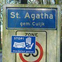 Stop! Overbelast gebied!